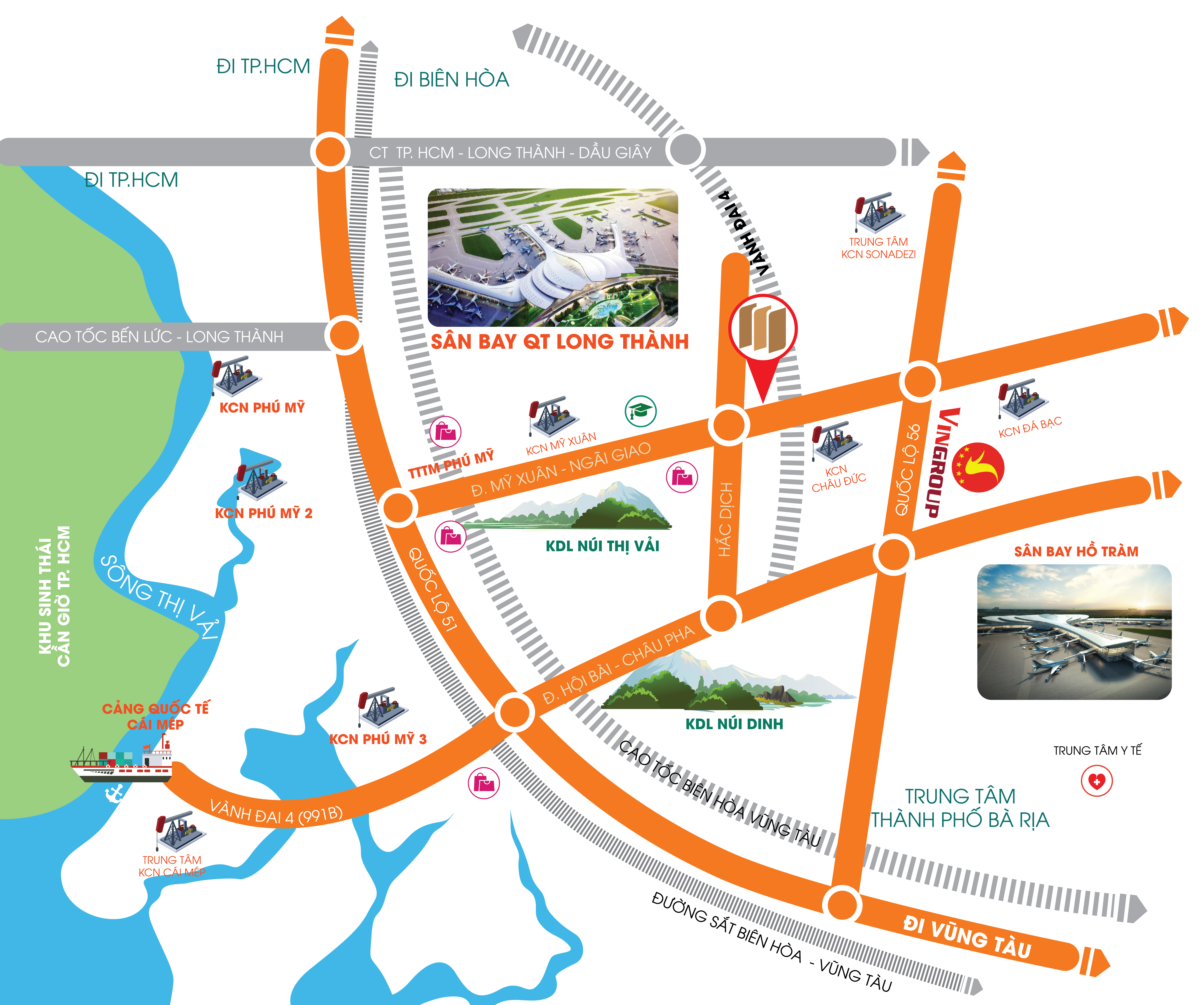 Vị trí dự án Phú Mỹ Future City
