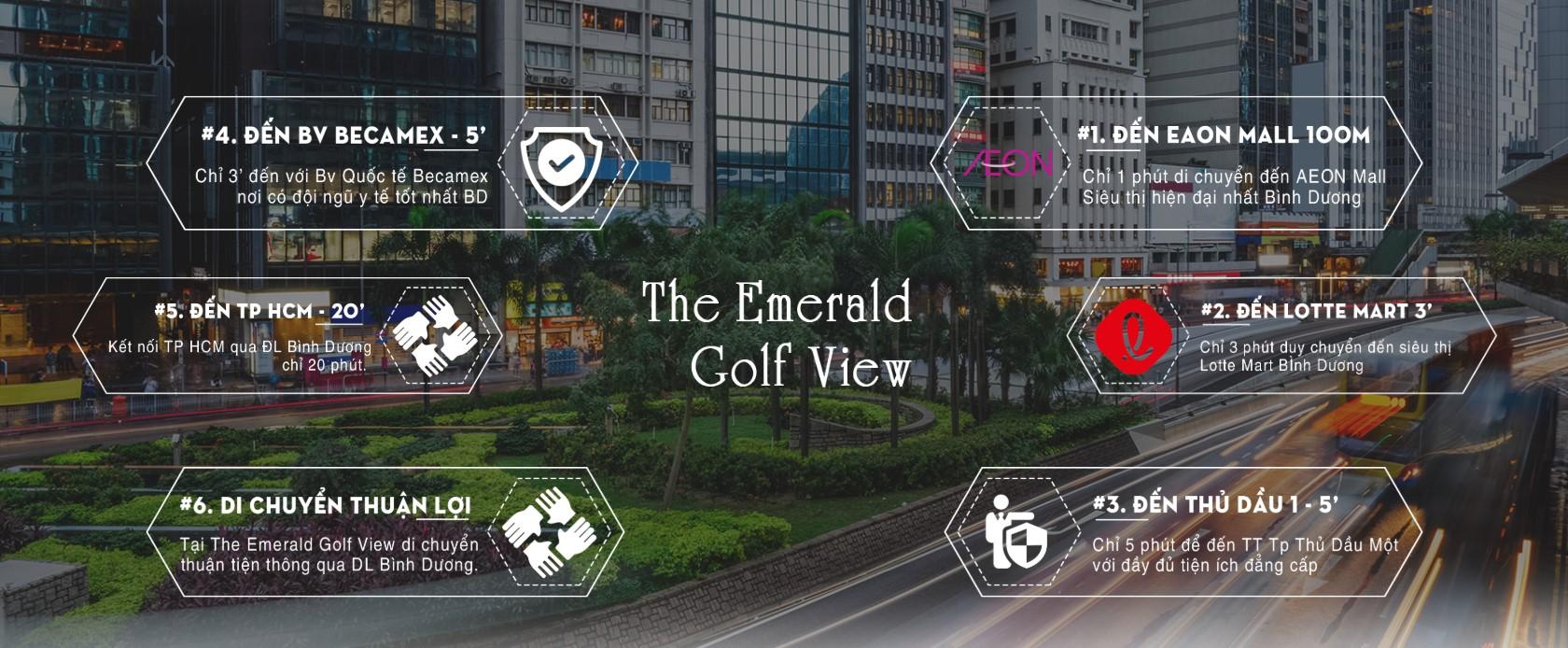 Tiện ích dự án The Emerald Golf View